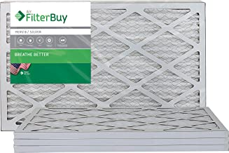 Best FilterBuy 14x24x1, Pleated HVAC AC Furnace Air Filter, MERV 8, AFB Silver, 4-Pack Review