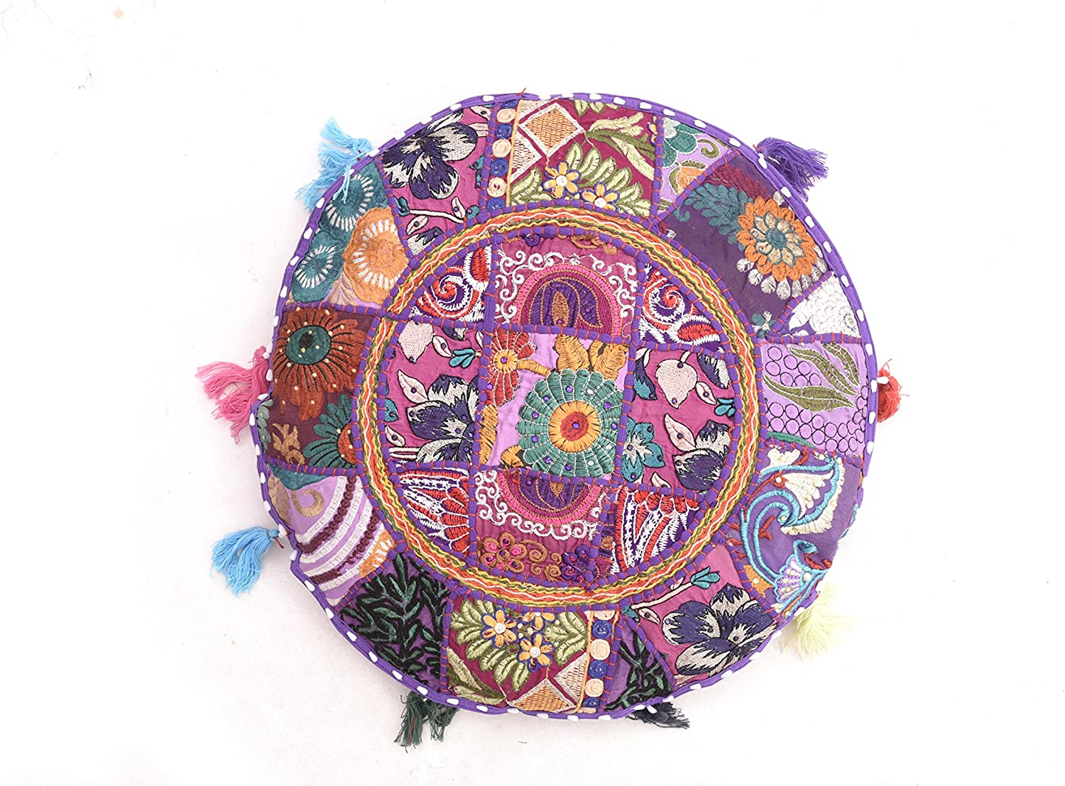 iinfinize Max 73% OFF Patch Work Now free shipping Floor Pillow Pouf Ottoma Patchwork Bohemian