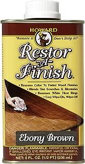 Howard Restor-A-Finish Ebony Brown 8oz by Howard
