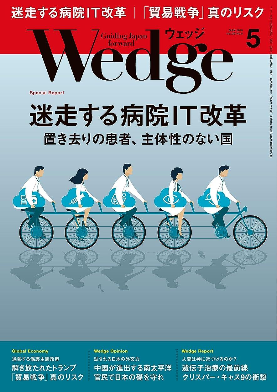 絵上昇ペストWedge (ウェッジ) 2018年 5月号 [雑誌]