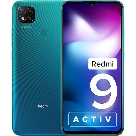 Redmi 9 Activ (Coral Green, 6GB RAM, 128GB Storage)