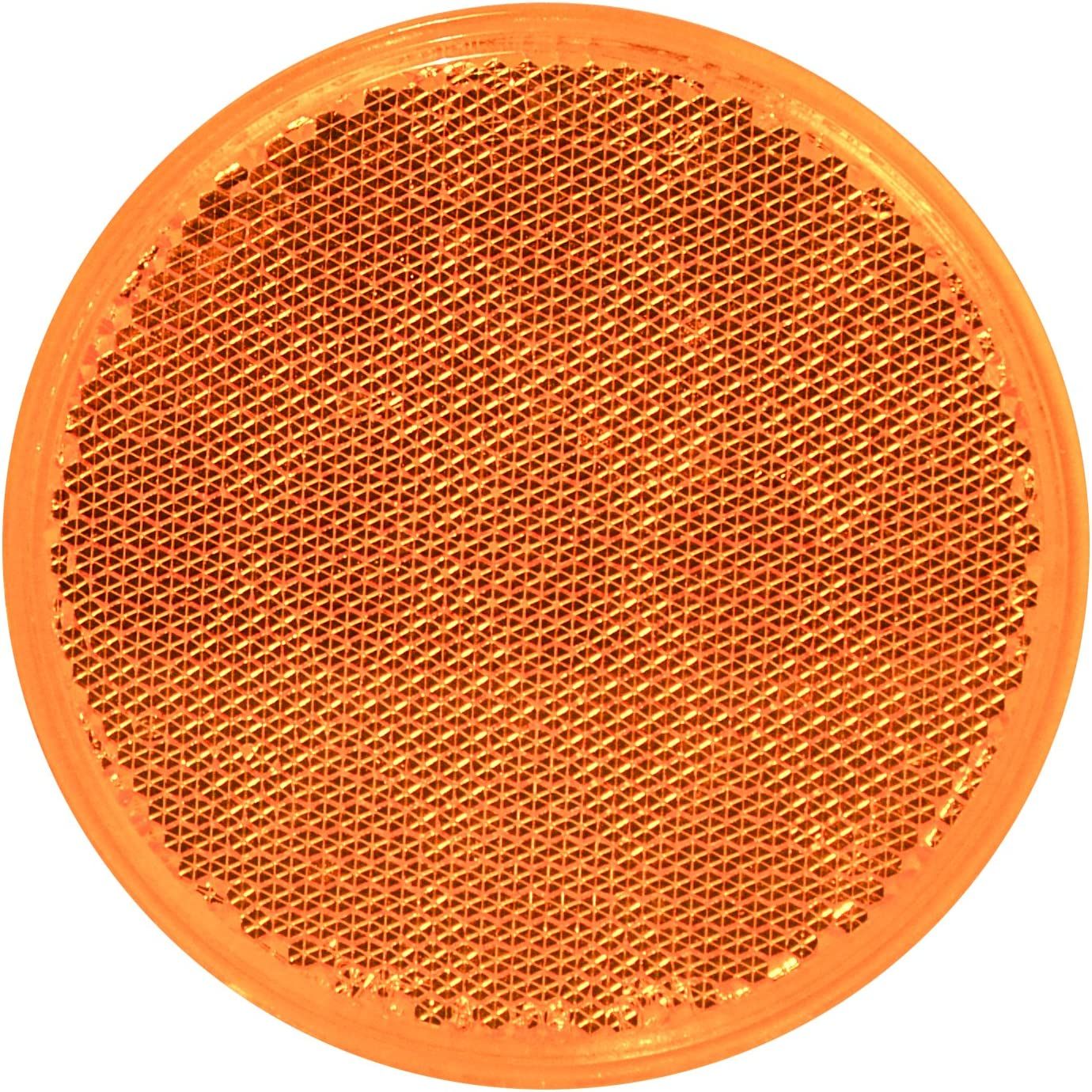 """Grand General 80811 Round Amber Bargain National products sale 3"""" Reflector for Stick-On T"""