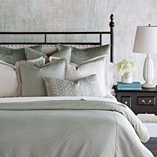 Eastern Accents Jessup Luxury Pastel Traditional King 8 Piece Bed Set, Mint Green