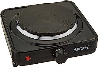 Aroma ahp-303Table Réchaud électrique/–Plaque (Table, réchaud électrique/plaque électrique, couleur d'acier, noir, pivo...