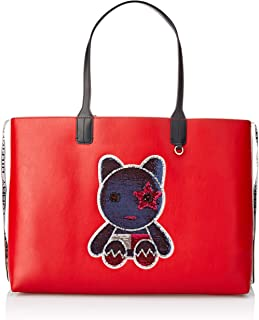 Tommy Hilfiger Women's Mascot Tote Bag, Red, One Size