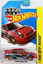Hot Wheels 2014 HW Off-Road Road Rally Subaru Impreza WRX (Red) 108/250