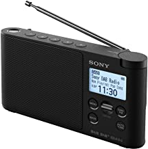 Sony XDR-S41D Portable DAB/DAB+ Wireless Radio with LCD Display - Black