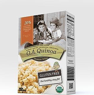 O.A. FOODS Organic Quinoa - Premium White, 340 gms