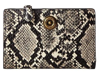 LAUREN Ralph Lauren Millbrook Crossbody (Black/Natural) Handbags