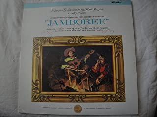 Jamboree Most Popular Western & Country Favorites Vinyl Lp Longines Symphonette Society LW 257 Mono