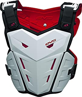 EVS F1 Adult Roost Guard Motox/Off-Road/Dirt Bike Motorcycle Body Armor - White/Large/X-Large