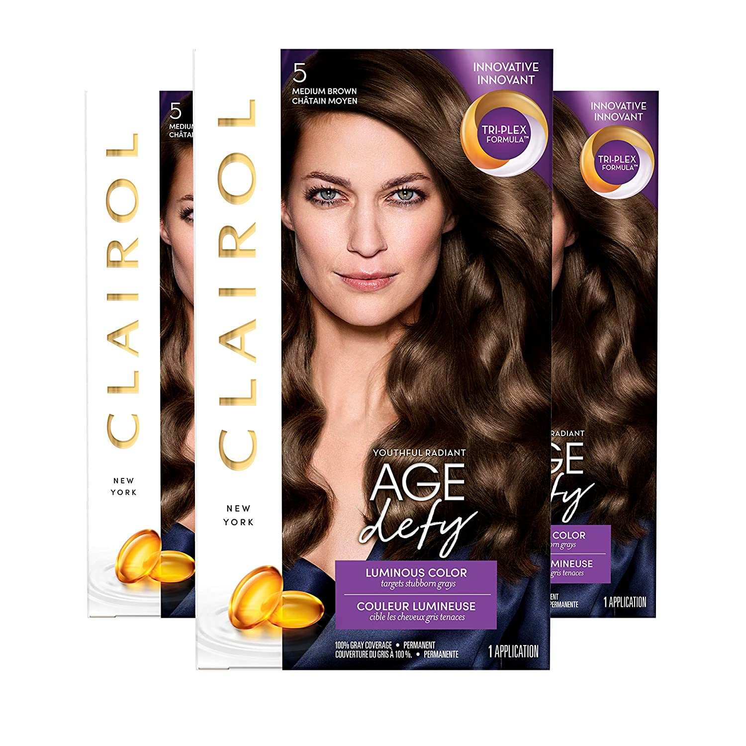 Tulsa Mall Clairol Age Defy Don't miss the campaign Permanent Hair 5 Dye Brown Medium Color