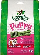 GREENIES Puppy 6+ Months Dental Dog Treats, 12 oz. Pack