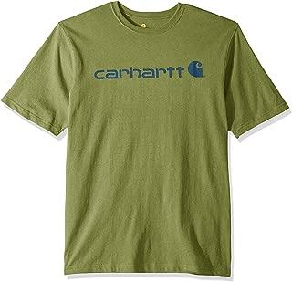 Carhartt Men's Big and Tall Big & Tall Signature Logo Ss Mw Jersey T-Shirt K195