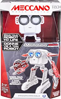(Red) - Meccano-Erector - Micronoid - Red Socket, Programmable Robot Building Kit