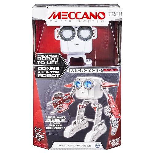 Meccano - 6031222 - Jeu de Construction - Micronoid Rouge/Blanc