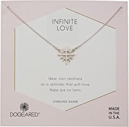 Infinite Love, Cross with Rays Charm Necklace