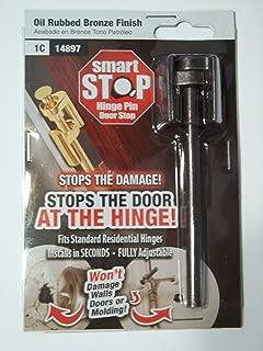 Smart Stop Hinge Pin Door Stop, Bronze Finish