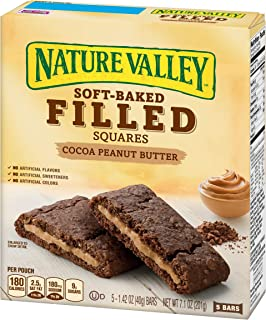 Nature Valley Soft Baked Filled Squares Cocoa Peanut Butter