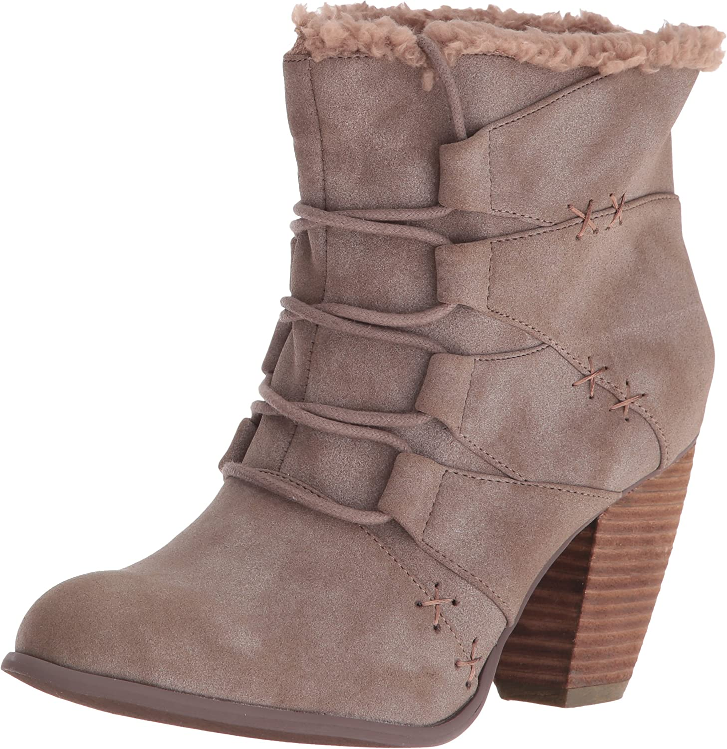 Not Rated Womens Primpink Ankle Bootie