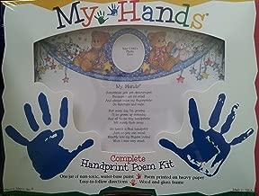 My Hands Complete Handprint Poem Kit
