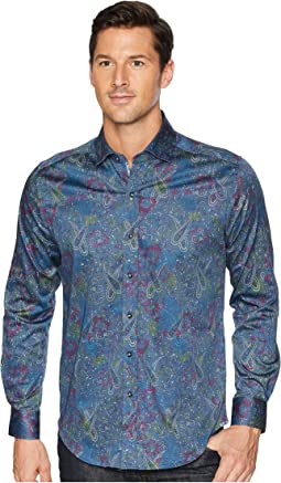Modern Americana Carver Paisley Sport Shirt