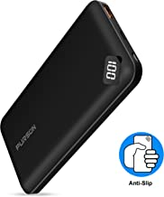 2020 Updated Ultra Compact USB C Power Bank, 10000mAh Portable Charger, Digital LED Indicator External Battery Pack for iPhone, Samsung Galaxy and More (10000mAh)