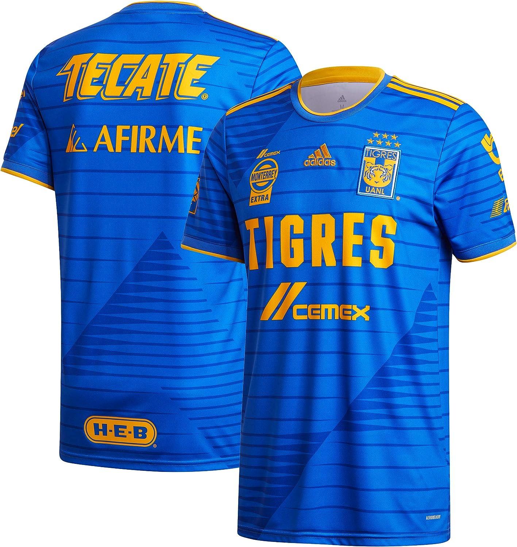adidas 2020-21 Tigres Away Jersey - Blue-Collegiate Gold