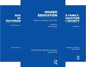 Routledge Library Editions: Education (151-200) (50 Book Series)