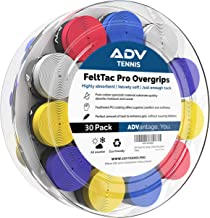 ADV Tennis Dry Overgrip - Remarkably Absorbent - Must Feel Velvety Comfort - Exclusive FeltTac Material