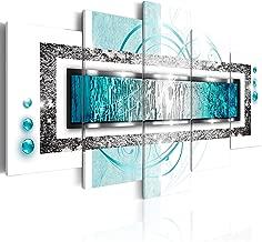 murando - Cuadro en Lienzo 200x100 cm Abstracto Impresión de 5 Piezas Material Tejido no Tejido Impresión Artística Imagen Gráfica Decoracion de Pared Arte a-A-0003-b-o