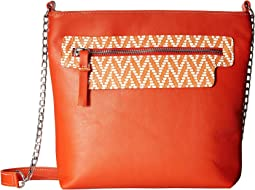 Orange/Chevron