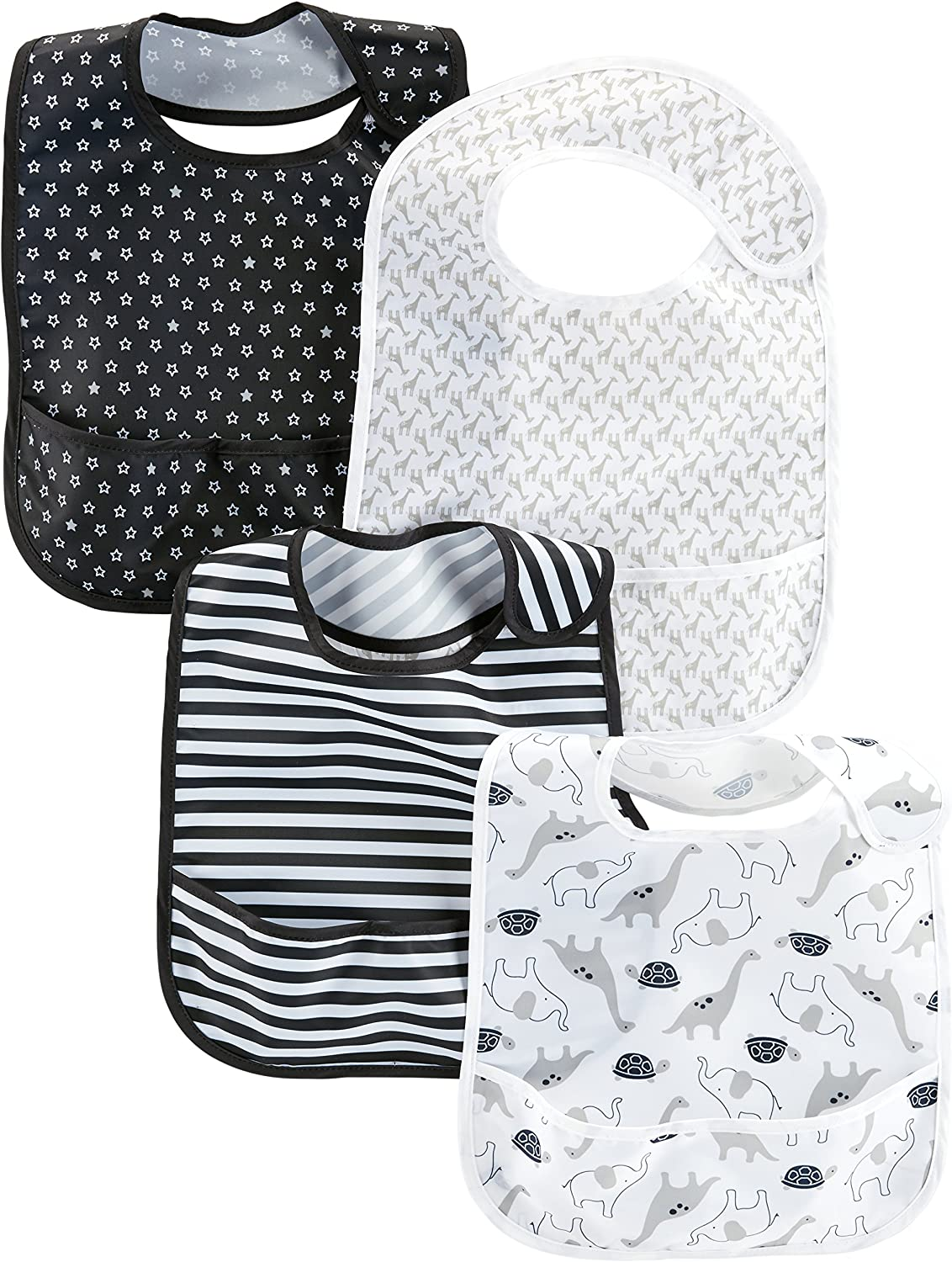 Simple Joys by Carter's Baby 4-Pack Max 74% OFF Sales for sale Bibs Feeder