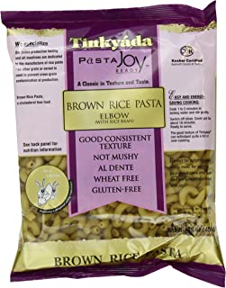 Tinkyada Brown Rice Pasta, Elbows, 16 Ounce (Pack of 12)