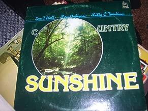 Country Sunshine Tom T.hall.roy Orbinson. Kitty C. Tomkins