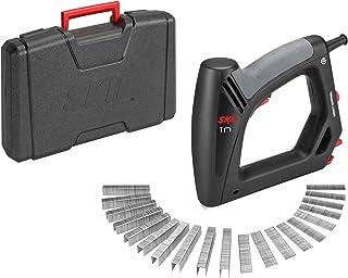 Skil 8200AC - Grapadora y clavadora eléctrica con control de impacto (cable de 6 metros, juego de 1500 grapas y 500 clavos, maletín)
