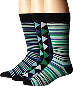 Steve Madden 3-Pack Fashion Crew Socks
