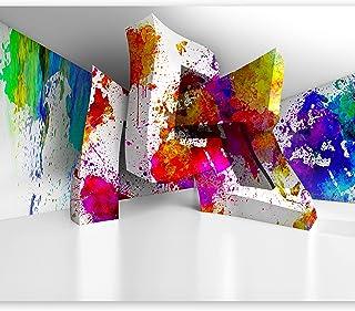 feuille autocollante cuisine et salon tapisserie murale autocollante Mur Pierre Optique 3D f-B-0061-a-a Papier peint adhesif Pierre Optique 392x280 cm murando papier peint mural decoratif