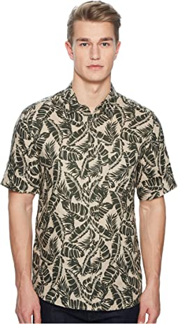 Vista Palm Leaf Short Sleeve Shirt