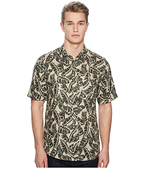 BALDWIN Vista Palm Leaf Short Sleeve Shirt
