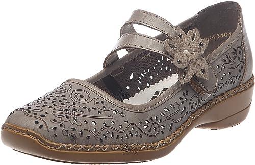 Rieker 41372 63, Chaussures de ville femme