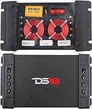 DS18 PRO-CFX Two-Way Passive Crossover 300W Car Audio Tweeter Mid Range Speaker (2 Pack)