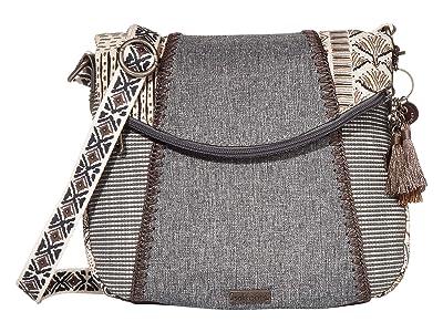 Sakroots Artist Circle Foldover Crossbody (Natural Brave Beauti) Cross Body Handbags