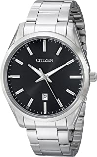 Citizen Men's Black Dial Stainless Steel Watch