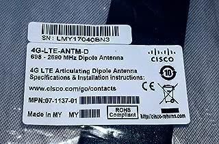 Cisco 4G/3G Omnidirectional Dipole Antenna 4G-LTE-ANTM-D=