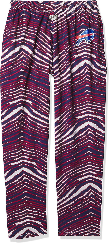 Zubaz Max 82% OFF Men's Zebra Direct store Left Pant Track Hip Logo