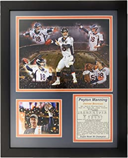 Legends Never Die NFL 2015 Super Bowl 50 Champions Peyton Manning Framed Photo Collage