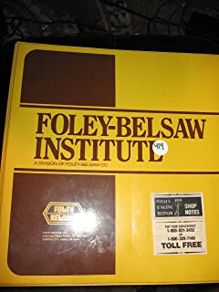 Foley Belsaw Institute Small Engine Repair & Service (RING BOUND WITH 3 HOLE PAGES; HAS LESSONS 1 TO 42; THICK ITEM)