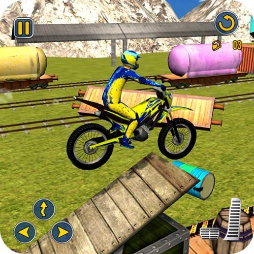 Stunt Motocross Rider