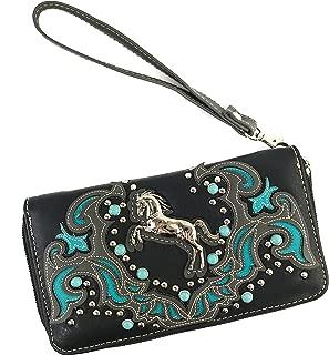 black horse purse